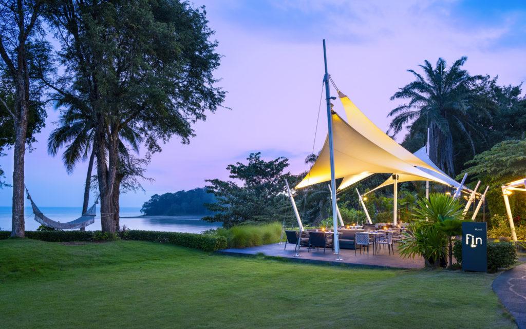 Fin Bar -Seaview Al Fresco dinning overlooking Andaman Sea -the shellsea krabi