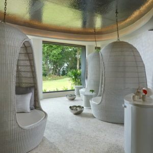 relaxation zone-Luxury spa by beach-Theshellseakrabi-luxuryspa-thailand